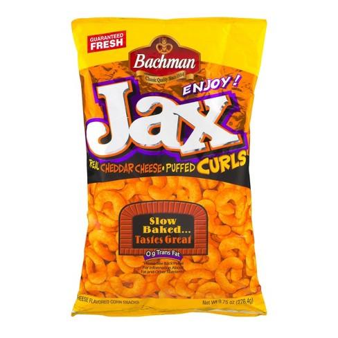 Bachman Jax Cheddar Cheese Curls - 9.75oz - image 1 of 3