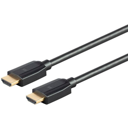 Monoprice Ultra 8K High Speed HDMI Cable - 6 Feet - Black, 48Gbps, 8K, Dynamic HDR, eARC - DynamicView Series - image 1 of 4