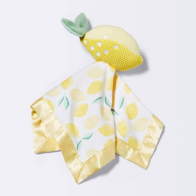 Small Security Blanket Lemons - Cloud Island™ Yellow