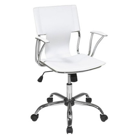 Dorado Office Chair White - OSP Home Furnishings - image 1 of 5