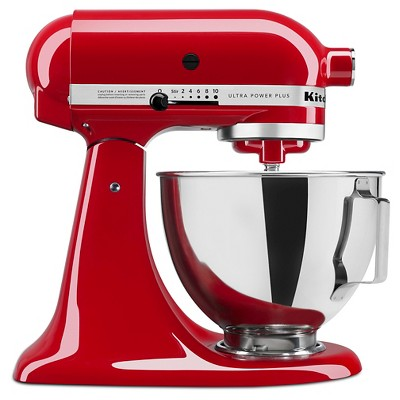KitchenAid Ultra Power Plus 4.5 Quart Tilt-Head Stand Mixer Red - KSM96