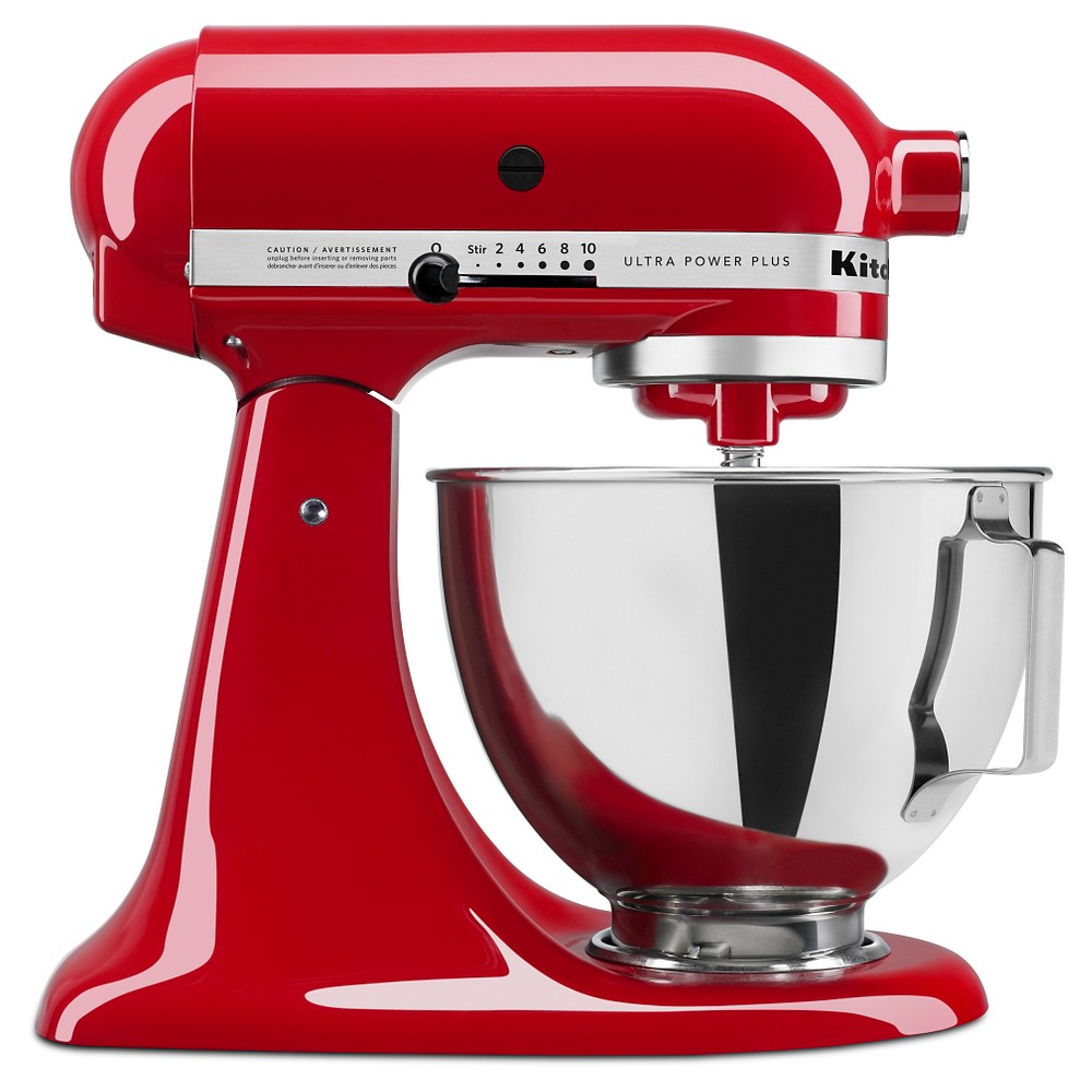 KitchenAid Ultra Power Plus 4.5qt Tilt-Head Stand Mixer Red – KSM96 51160157