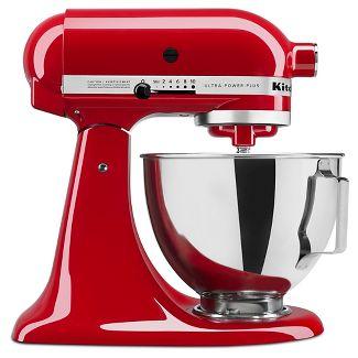 KitchenAid Ultra Power Plus 4.5qt Tilt-Head Stand Mixer Red - KSM96