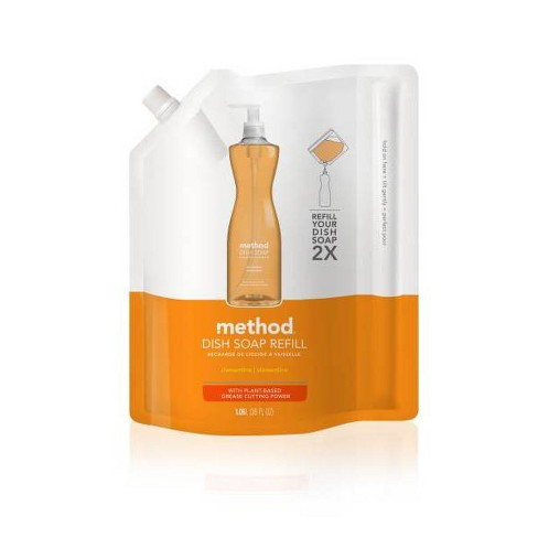 Method Clementine Dish Soap Refill 36 oz - image 1 of 3