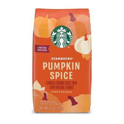 Starbucks Pumpkin Spice Light Roast Ground Coffee  - 11oz