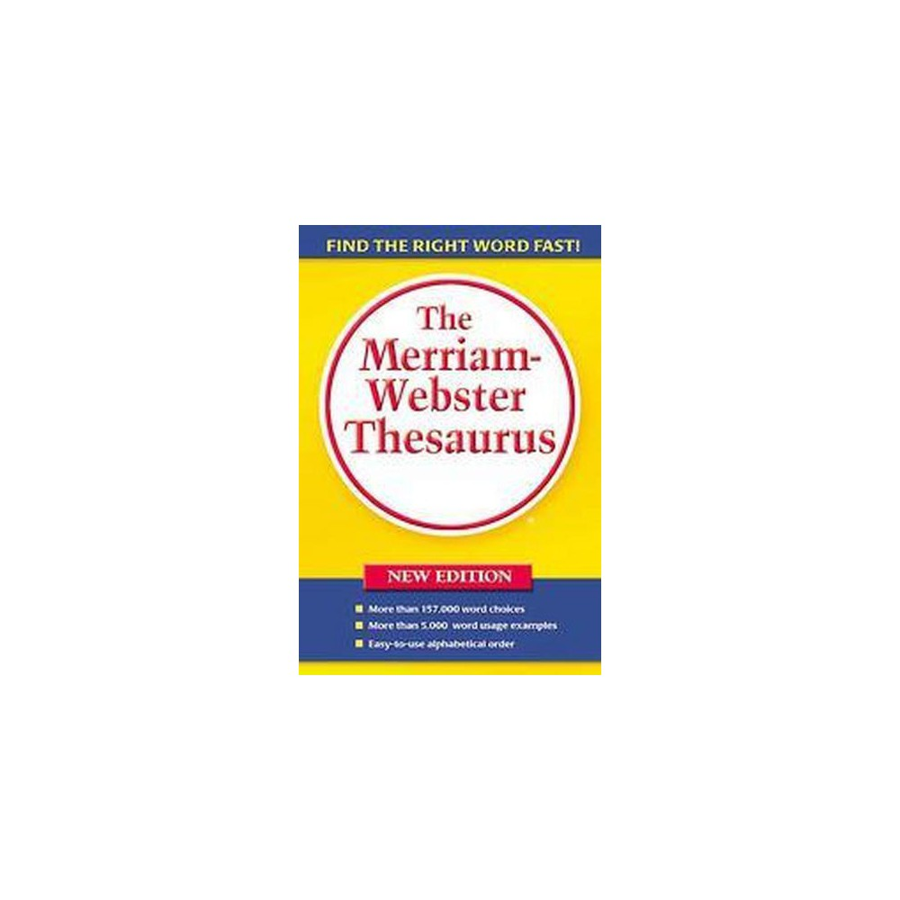 Merriam-Webster Thesaurus (New) (Paperback)