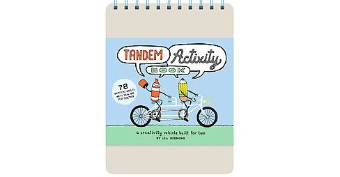 Tandem Activity Book : A Creativity Vehicle Built for Two (Hardcover) (Lea Redmond) - image 1 of 1