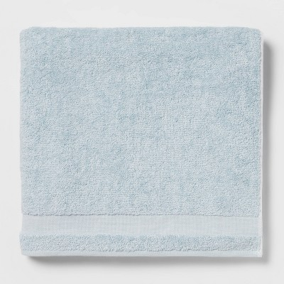 Solid Bath Sheet Aqua - Made By Design™