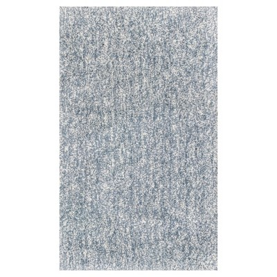 """Gray Solid Woven Accent Rug 27""""x45"""" - KAS Rugs"""