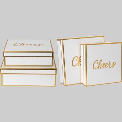 """4ct Gift Box """"Cheers"""" - Bullseye's Playground™"""
