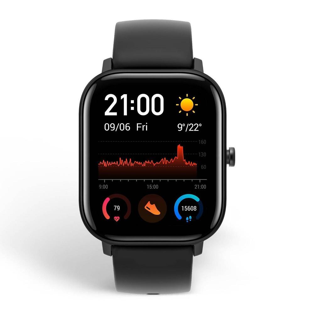 Amazfit Gts Smartwatch Obsedian Black W Silicone Band