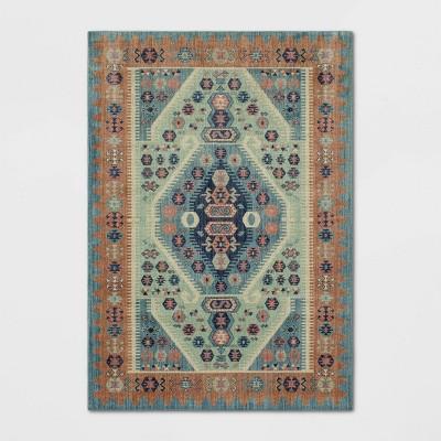 10'X13' Buttercup Diamond Vintage Persian Woven Rug - Opalhouse™