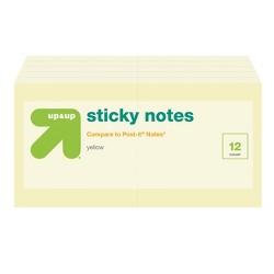 """Sticky Notes Cube 3"""" x 3"""" - Up&Up™"""