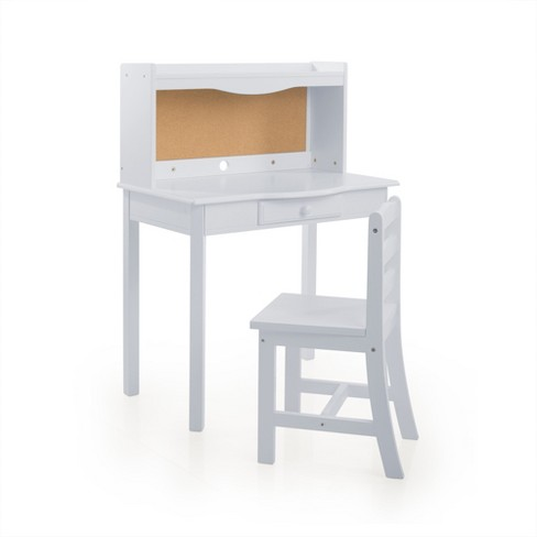 Classic Desk Gray - Guidecraft - image 1 of 4
