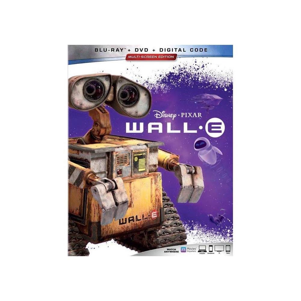 Wall E Blu Ray Dvd Digital