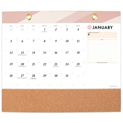 2020 Wall Calendar with Vision Board White - Create & Cultivate
