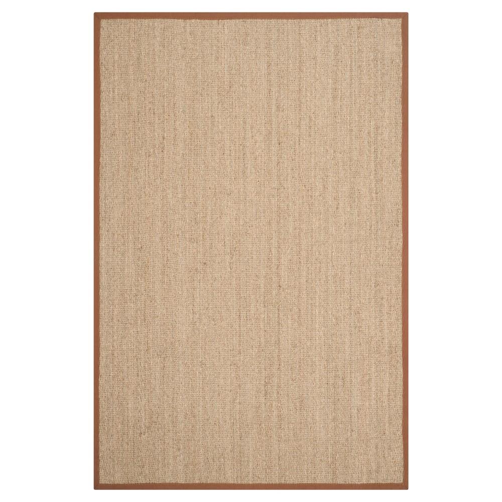 Natural Fiber Rug - Natural/Brown - (6'x9') - Safavieh