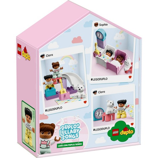 LEGO DUPLO Town Bedroom 10926 Fun Developmental Toddler Toy image number null