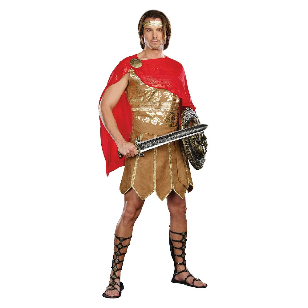 Image of Halloween Men's Caesar Adult Costume - Large, Beige