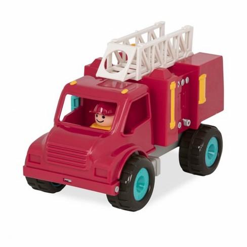 Battat Plastic Fire Truck - image 1 of 3