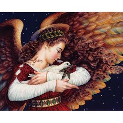 Springbok Angel And Dove Jigsaw Puzzle 1000pc