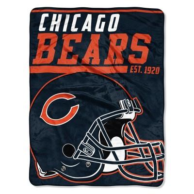 NFL Chicago Bears Micro Fleece Throw Blanket