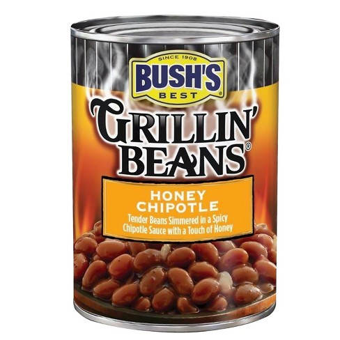 Bush's® Honey Chipotle Grillin' Beans® - 21.5oz - image 1 of 1