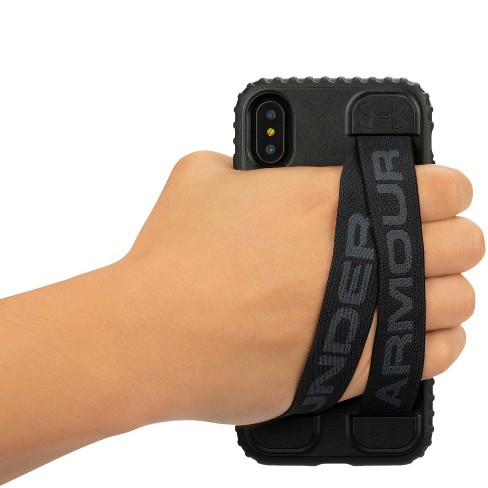 abdbceb4e1 Under Armour iPhone X Case UA Handle-It - Black/Black