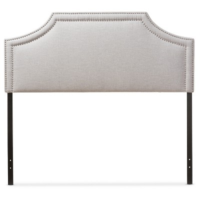 Avignon Modern And Contemporary Fabric Upholstered Headboard - Baxton Studio