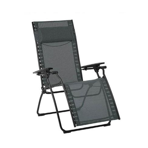 Sensational Lafuma Evolution Zero Gravity Indoor Outdoor Recliner Lounge Chair Obsidian Customarchery Wood Chair Design Ideas Customarcherynet