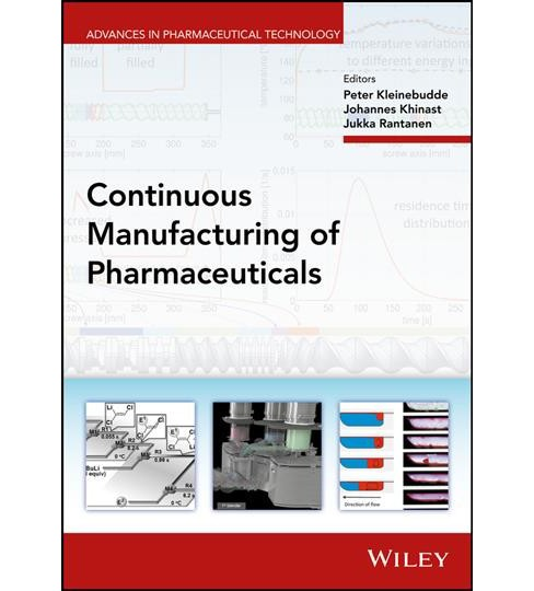 Continuous Manufacturing of Pharmaceuticals (Hardcover) - image 1 of 1