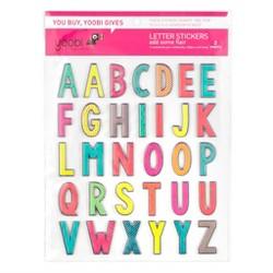 Letter Puffy Stickers - Yoobi™
