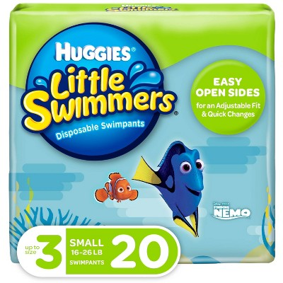 Huggies Little Swimmers Disposable Swimpants - Size S (20ct)
