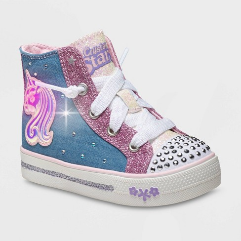 Toddler Girls' S Sport by Skechers Raelynn Light-Up Sneakers - Pink - image 1 of 3