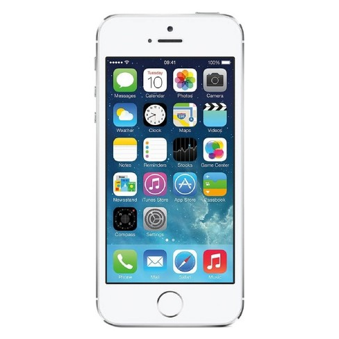 Apple iPhone 5s Pre-Owned (GSM Unlocked) 32GB Smartphone - Silver - image 1 of 2
