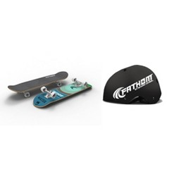 Shark Wheel Fathom Elements Water Skateboard | Fathom Large/Extra Large Skateboard Helmet