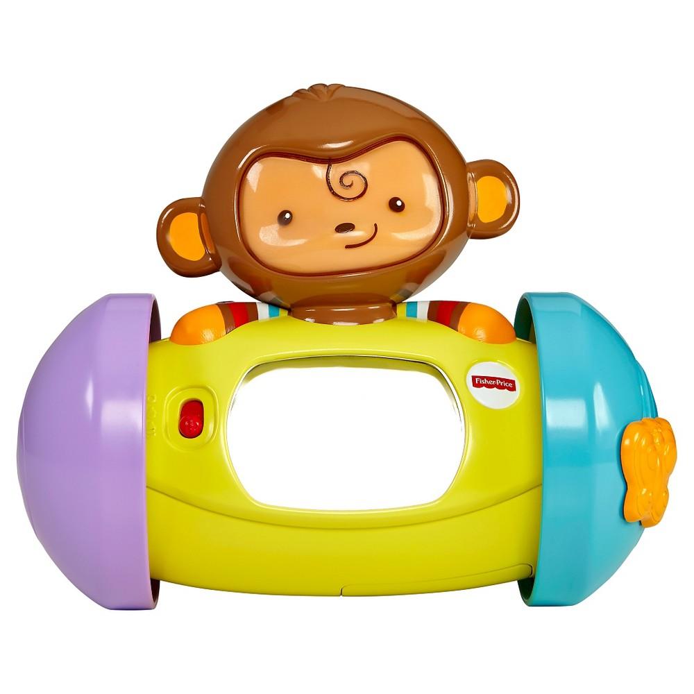 Fisher-Price My Little SnugaMonkey 1-2-3 Crawl-Along Monkey