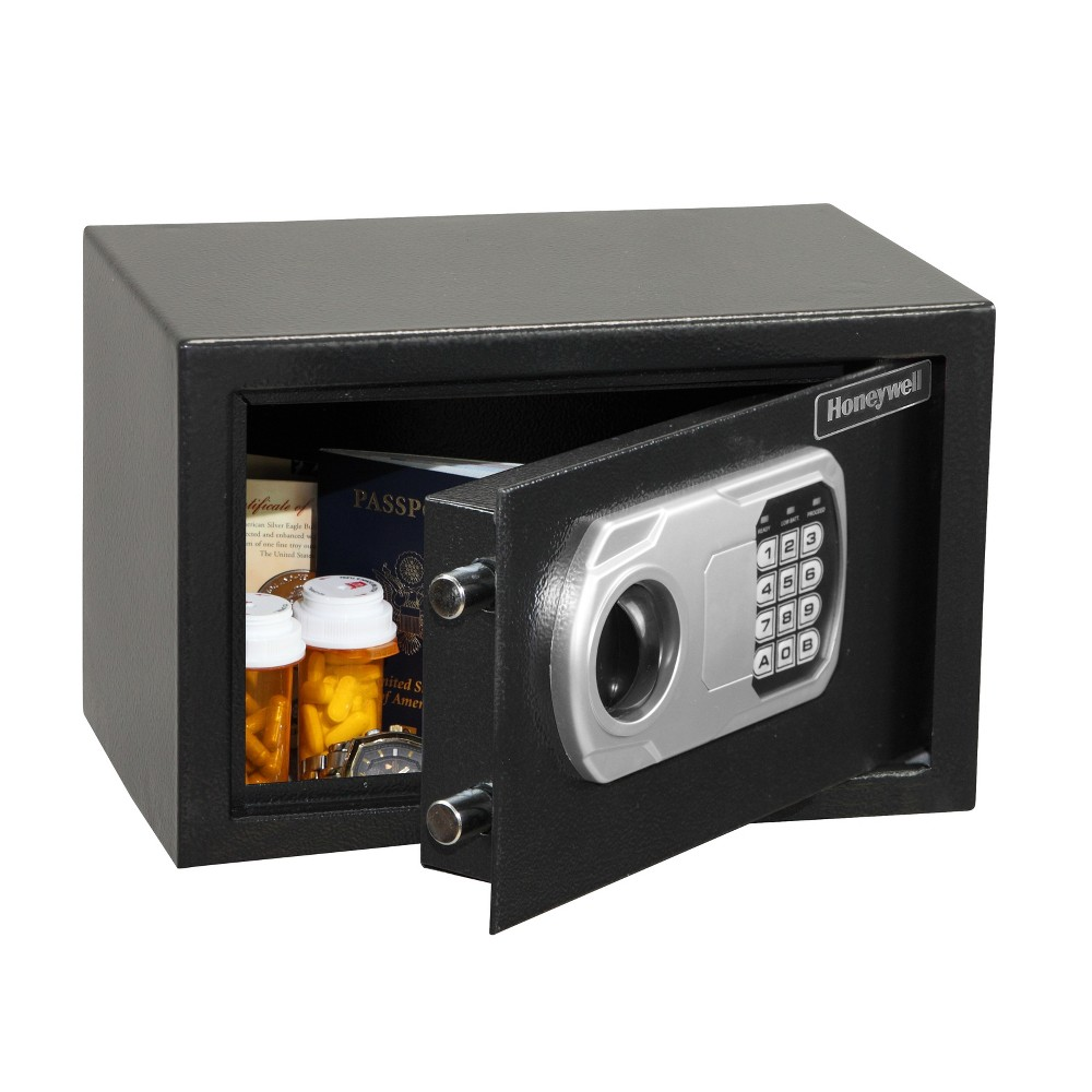 Image of Honeywell Digital Security Safe .27 cu ft - 815101, Black