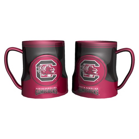 South Carolina Gamecocks Boelter Brands 2 Pack Game Time Coffee Mug - Red/ White (20 oz) - image 1 of 1