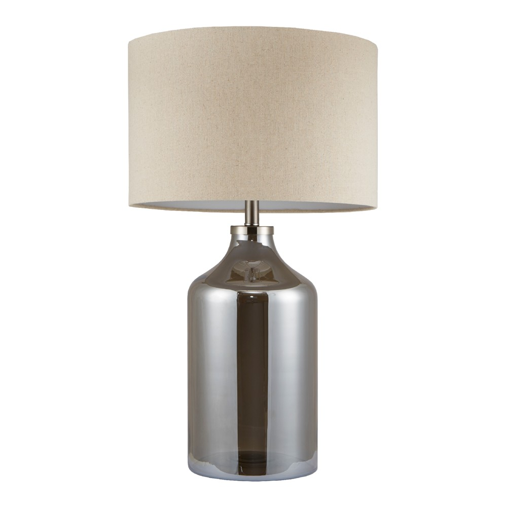 """Image of """"17"""""""" x 30.25"""""""" Colby Table Lamp (Includes Energy Efficient Light Bulb) Silver"""""""