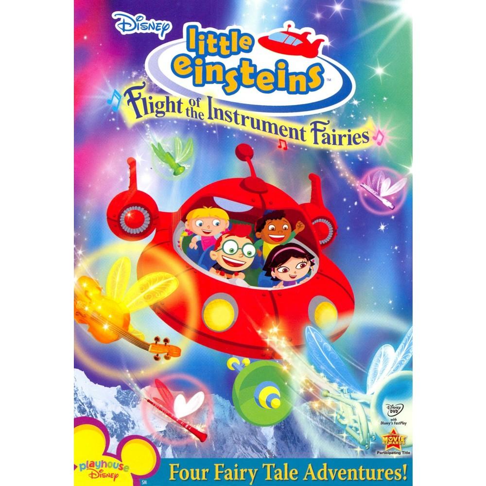 Little Einsteins Flight Of The Instrument Fairies Dvd