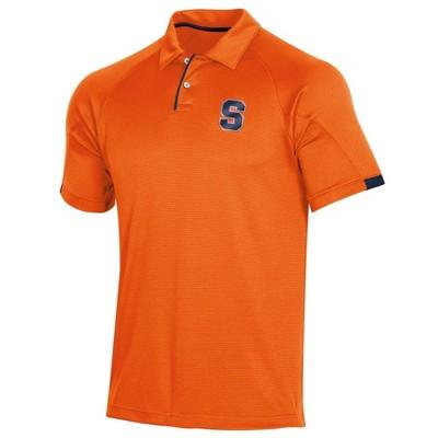 NCAA Syracuse Orange Men's Short Sleeved Polo Shirt