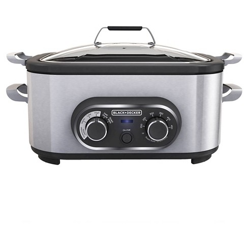 BLACK+DECKER 6.5qt Multi Cooker - Stainless Steel MC1100S - image 1 of 4