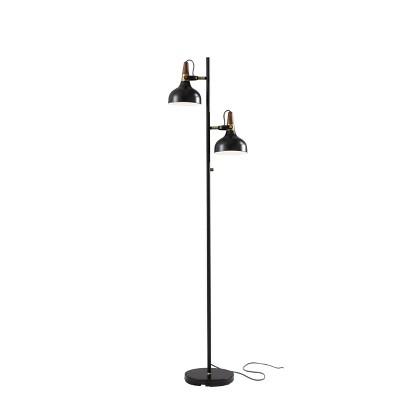 "65"" Brunswick Floor Lamp Black - Adesso"