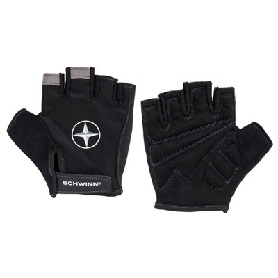 Schwinn Bike Half-Finger Gloves - Black
