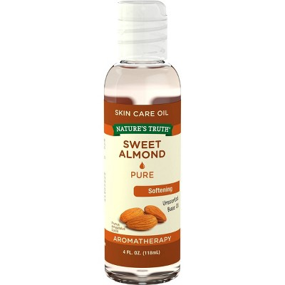 Nature's Truth Sweet Almond Aromatherapy Skin Care Essential Oil - 4 fl oz