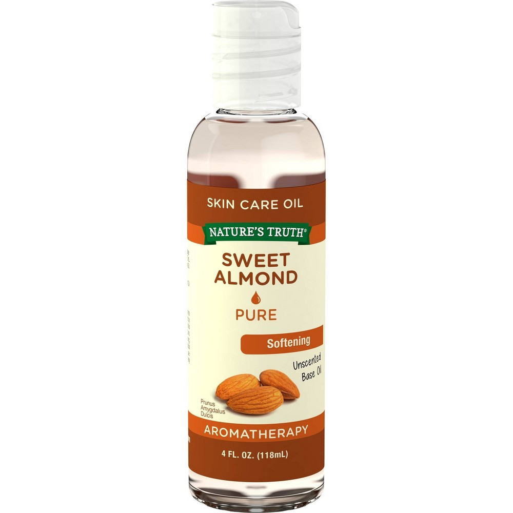 Nature S Truth Sweet Almond Aromatherapy Skin Care Essential Oil 4 Fl Oz