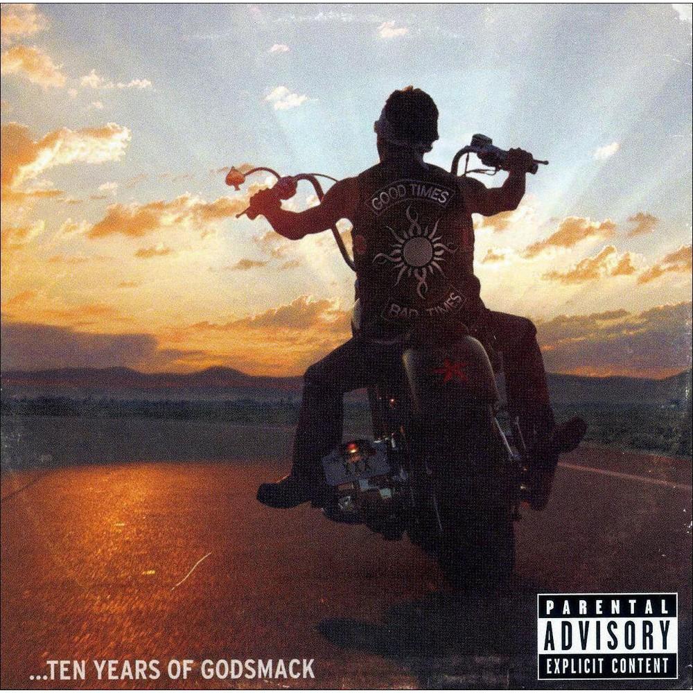 Godsmack Good Times Bad Times 10 Years Of Godsmack Explicit Lyrics Cd