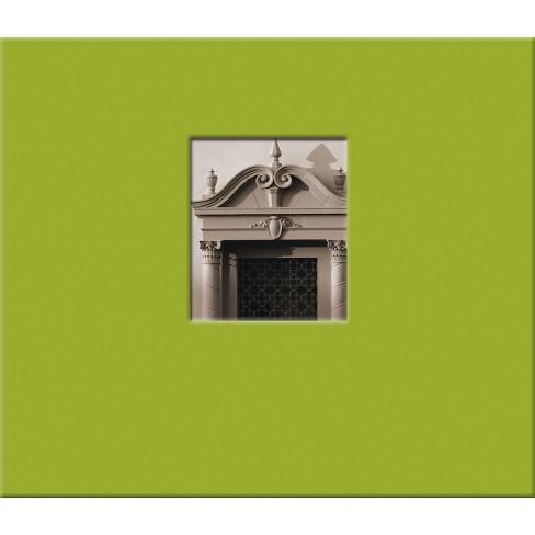 "Photo Album 8.5x8.5"" Green Fabric - image 1 of 1"