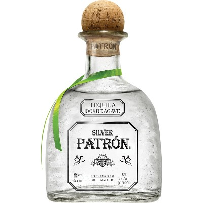 Patrón Silver Tequila - 375ml Bottle